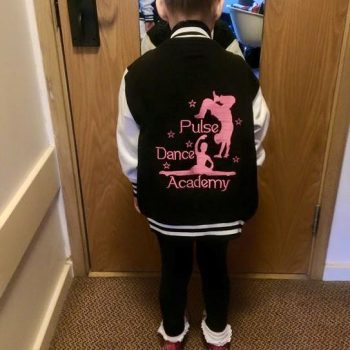 We got to embroidery some lovely event jackets for pulse dance academy