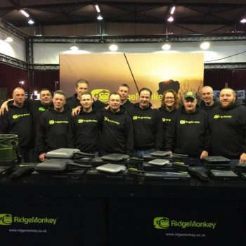 What a great Picture ! A job we done recently for RidgeMonkey (printed hoodies) . Looking smart !